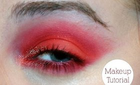 Lady Gaga Superbowl 2016 Makeup Inspired Tutorial | Dramatic Red