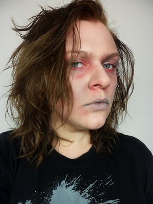 First makeup tutorial for my 2012 Halloween series. YAY!!!