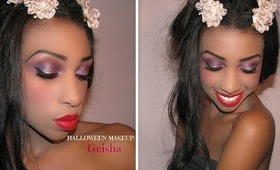HALLOWEEN LOOK 2013: Modern Geisha makeup tutorial ♥