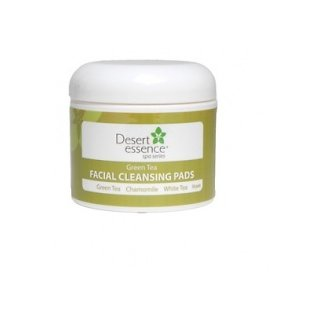 Desert Essence Green Tea Facial Cleansing Pads