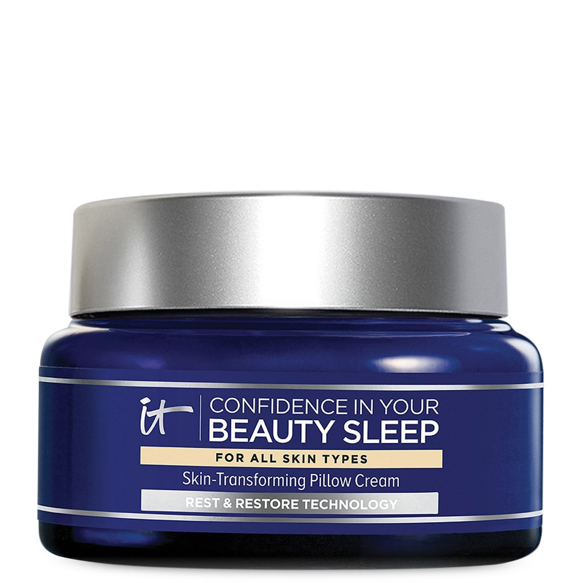 IT Cosmetics  Confidence in Your Beauty Sleep Night Cream product swatch.