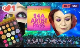 Haul GRWM - Morphe 24A, mauve everything and more!