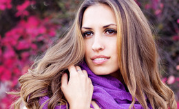 Scarf-Styling Hair Tips