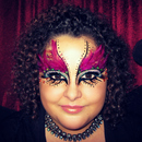 Tribal/Dark Fairy ♥ {Halloween makeup} ^▽^