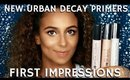 Best Primer for All Skin Types? First Impressions of Urban Decay | mathias4makeup
