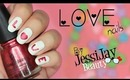 ♥ Last Minute Cute Valentine's Day nails ♥