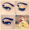 belle Disney makeup look