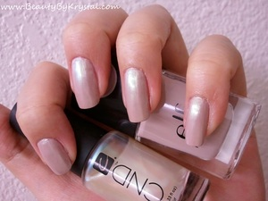 ELF - Innocent, CND - Gold Pearl