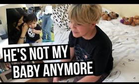 VLOG: He's Not My Baby Anymore   SCCASTANEDA