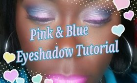 Pink Gave Me The Blues | Eyeshadow Tutorial