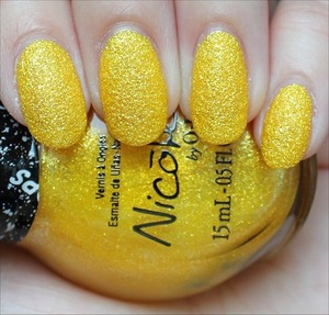 A Shoppers Drug Mart exclusive from the Nicole by OPI Gumdrops Collection! Click here to see my in-depth review and more swatches: http://www.swatchandlearn.com/nicole-by-opi-lemon-lolly-swatches-review/