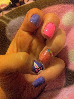 Easter nail.design i came up with super easy n fun