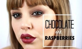 Chocolate and Raspberries Valentine Look | KAZ IN LOVE