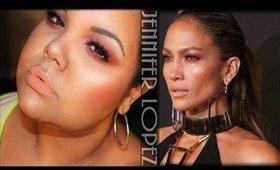 Jennifer Lopez @Fashion Rocks 2014 Makeup Inspired Tutorial