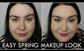 Everyday Easy Spring Makeup Tutorial- All Drugstore Products