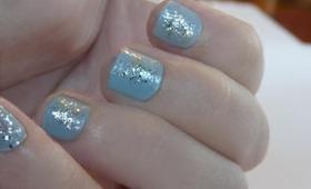 ♡ Silver Confetti Nail Tutorial ♡