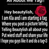 All about me tag