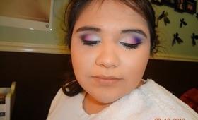 Matte Pink & Purple Eyes- Makeup Tutorial (Full Face)  -vcruzbebe