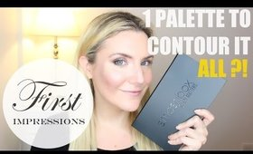 SMASHBOX #SHAPEMATTERS PALETTE FIRST IMPRESSIONS REVIEW + FULL FACE CONTOURING TUTORIAL
