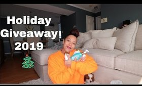 Holiday Product GiveAway | Vlogmas| Closes 12/19/2019