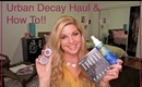 URBAN DECAY HAUL & HOW TO SAVE MONEY SHOPPING ONLINE!