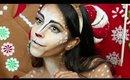 Twisted Christmas: Reindeer Makeup Tutorial