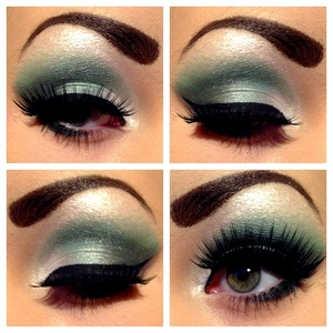 Facebook.com/jessieblushxo   I used the urban decay NYC palette to create this look!