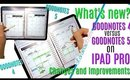 CHANGES and IMPROVEMENTS in Goodnotes 5 vs Goodnotes 4, Goodnotes 5 Review What I like and dont like