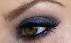 Deep Sexy Blue Smokey Eyes