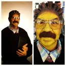 Daddy as Ned Flanders