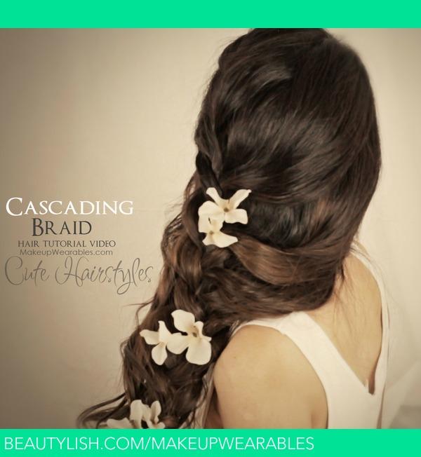 Cascading Braid Hairstyle | Hair Tutorial Video | Tina ...