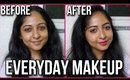 QUICK EVERYDAY MAKEUP Using Minimum products | Stacey Castanha