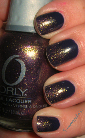 Finger Paints Amethyst Atelier and Orly Oui
