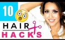 10 ★ Hair HACKS & Hairstyles Every Girl DOESN'T ALREADY KNOW ★ Bang Cutting Beauty Hack