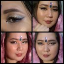 bollywood inspired make up