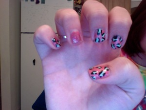 animal print in color