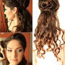 hairstyle inspired by Ilithyia Glaber from Spartacus