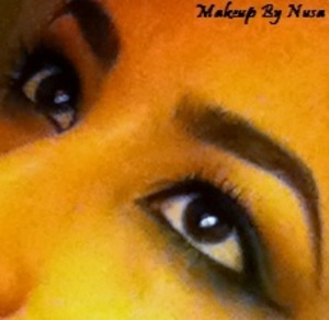 Egyptian inspired settle eyeliner and makeup