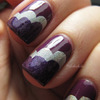 Purple cloud manicure