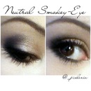 Neutral Smokey-Eye!