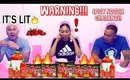 EXTREMELY SPICY 🔥 SPICY KOREAN NOODLE CHALLENGE!(WARNING: DO NOT TRY)