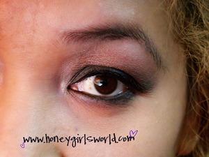 Neutral eye using NYX palette