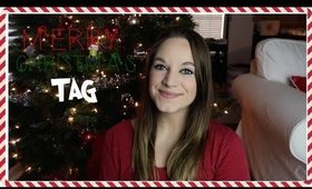 THE VERY MERRY CHRISTMAS TAG | VLOGMAS 2017 DAY 4