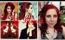 How to get bright RED hair with NO bleach (plus, how to prevent hot roots!)
