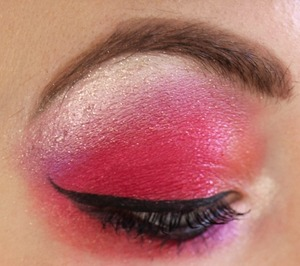 Red Barron, Electro Red, and Electro Orange Eye Shadows from Medusa's Makeup