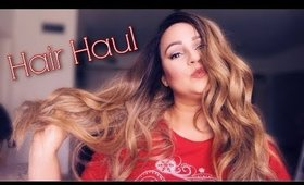 NEW HAIR HAUL AND REVIEW