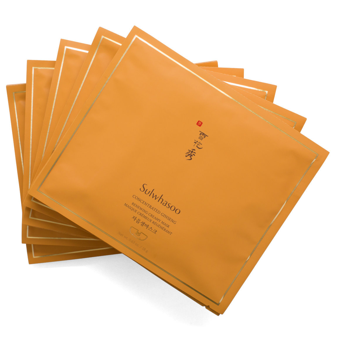 Sulwhasoo Concentrated Ginseng Renewing Creamy Mask product swatch.