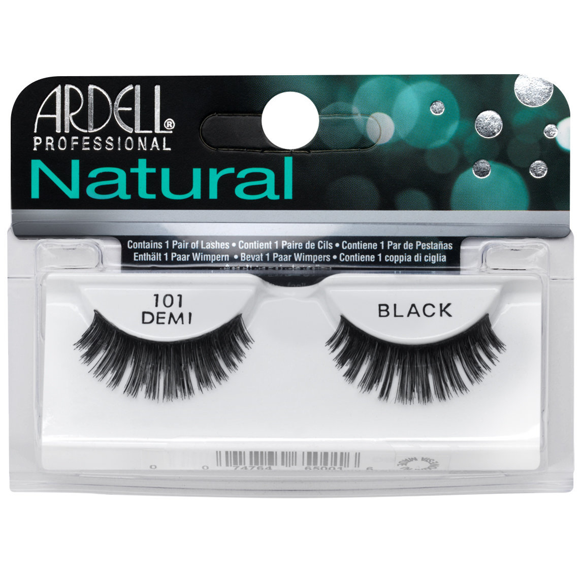 Ardell Natural Lashes 101 Demi Black alternative view 1.