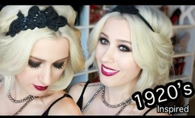 Wearable 'Great Gatsby' Inspired Hair, Makeup and Outfit