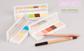 Unmasked! A Trio Of Spring Palettes by Shu Uemura